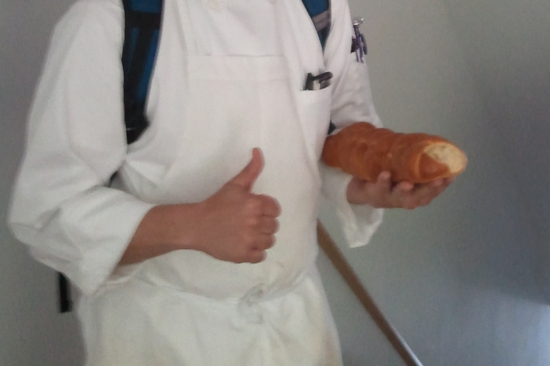 Bread Making Skills Get A Thumbs Up