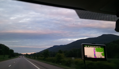 Driving Home from Airport