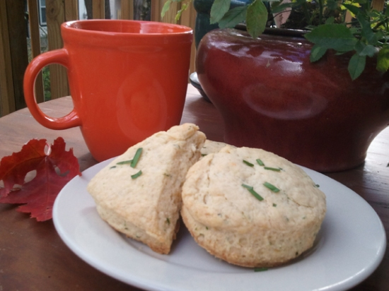 Cabot Cheddar and Chive Scone Recipe