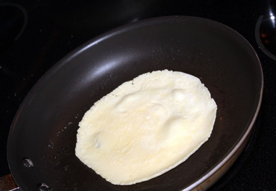 how to cook a crepe