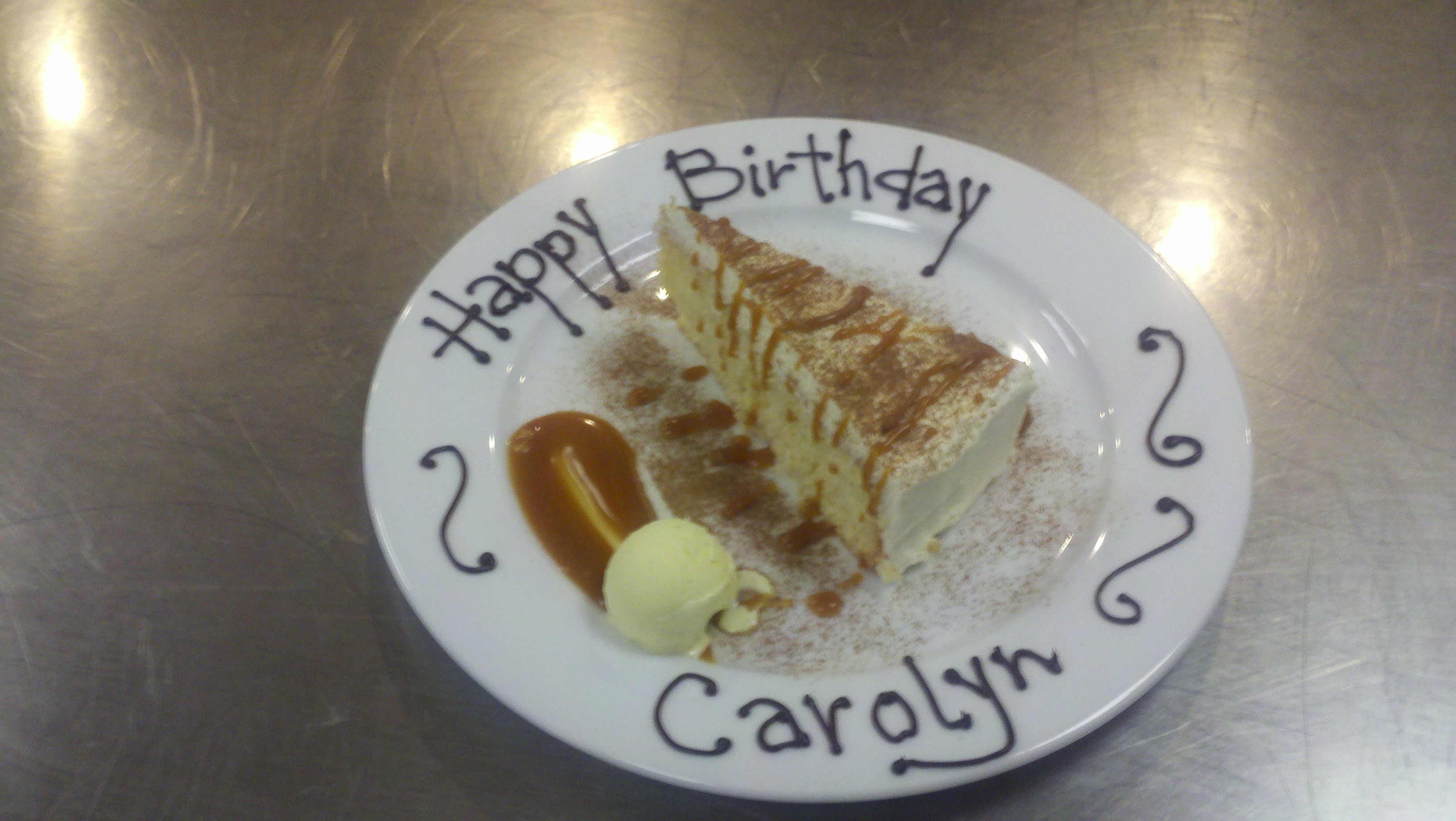 happy birthday carolyn cake