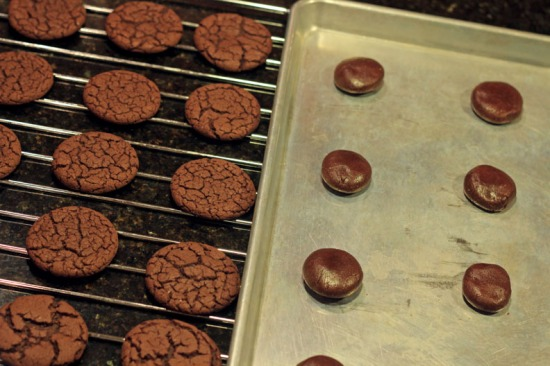 baking devils food cake cookies
