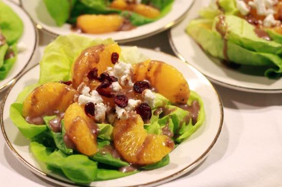Bibb Lettuce Mandarin Oranges Goat Cheese Cranberries & Housemade Balsamic