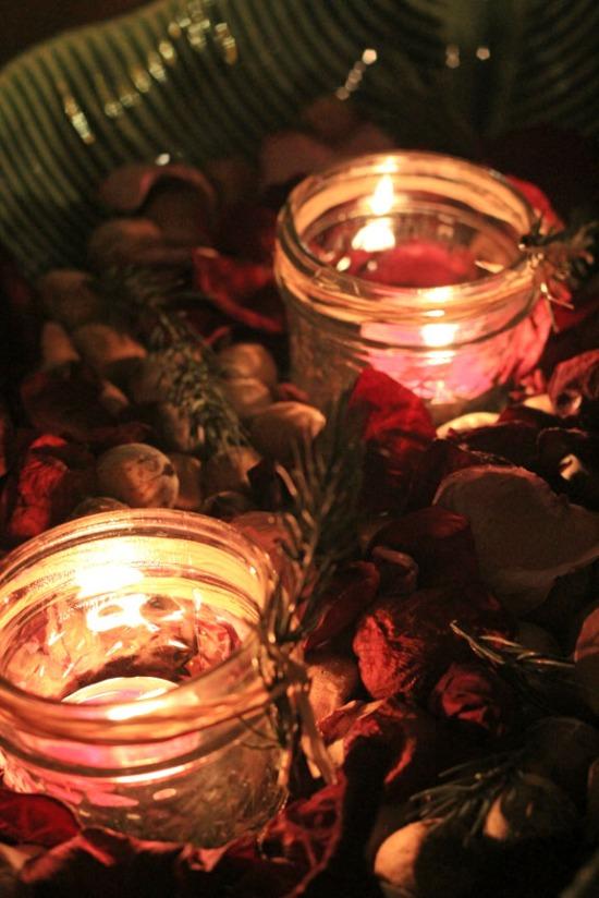 christmas candles 2012