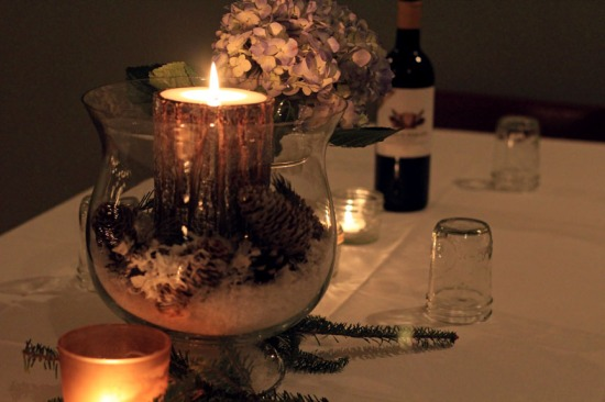 new years dinner tablescape