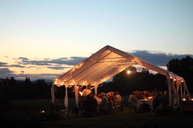 Sunset_Sandiwood Farm to Fork Dinner_August 2012