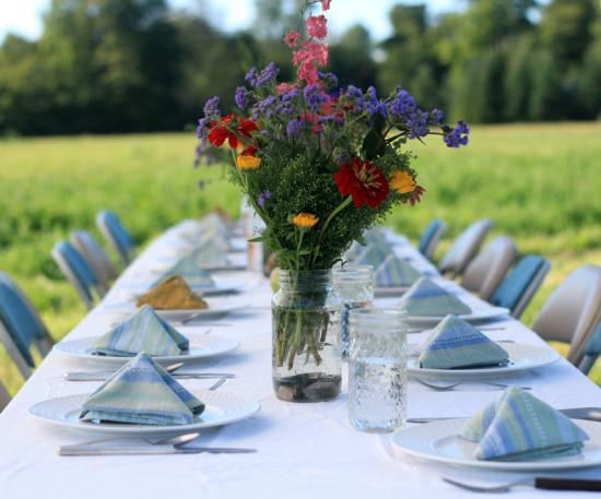 table setting_Sandiwood Farm to Fork Dinner_August 2012