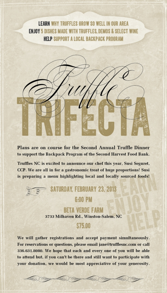 Truffle Trifecta Invite