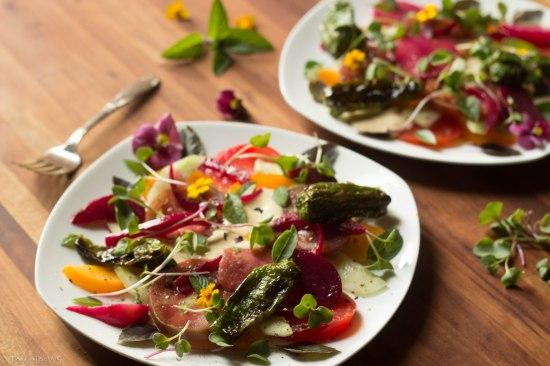 Summer Tomato Beet Salad, TowniesWS.com