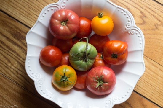 Homegrown Tomatoes, TowniesWS.com